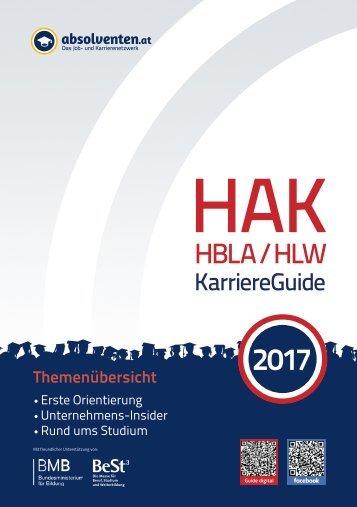 HAK/HBLA/HLW KarriereGuide 2017