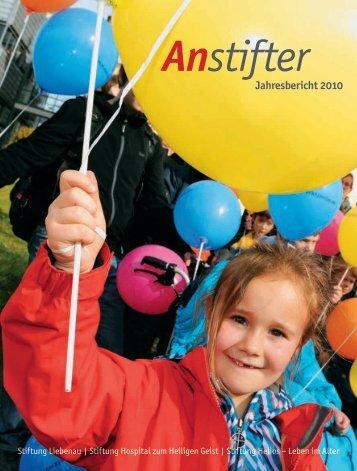 Jahresbericht 2010 der Stiftung Liebenau
