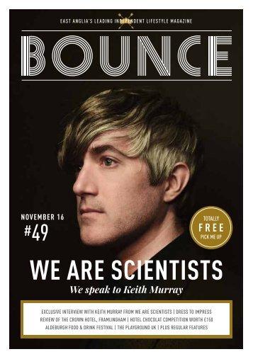Bounce Magazine November 2016