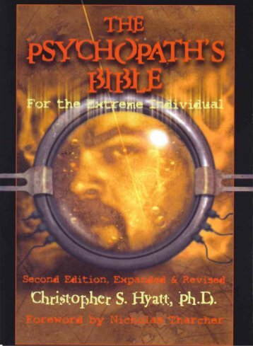 The Psychopaths Bible