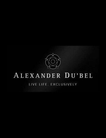 Alexander Du'bel Group Booklet
