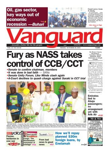 Fury as NASS takes control of CCB/CCT