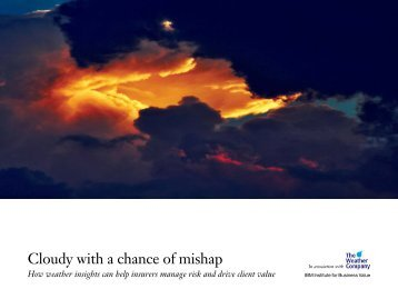 Cloudy with a chance of mishap