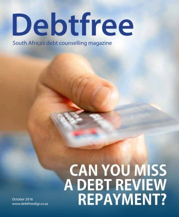 Debtfree Magazine October 2016