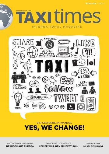 Taxi Times International - März 2015