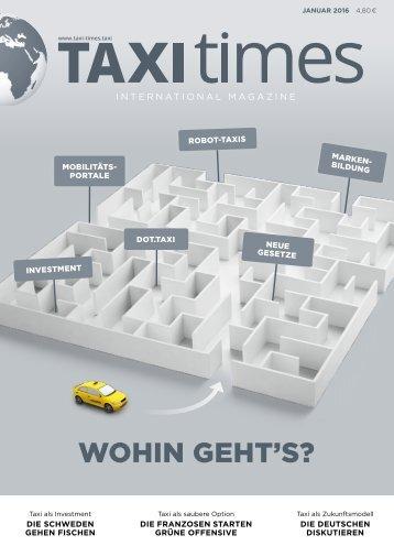 Taxi Times International - Januar 2015 - Deutsch