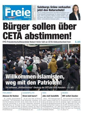 Bürger sollen über CETA abstimmen!
