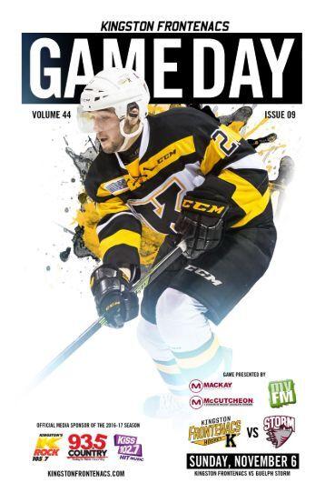 Kingston Frontenacs GameDay November 6, 2016
