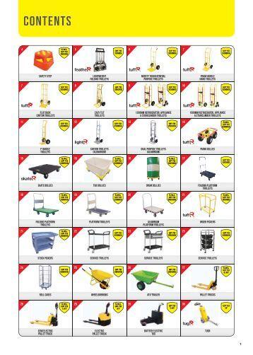 Richmond Australia Material Handling Catalogue