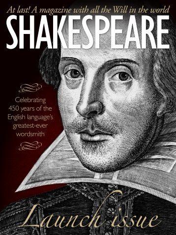 Shakespeare Magazine 01