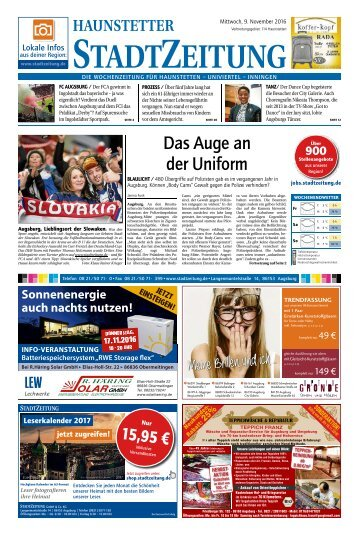 114 Augsburg - Haunstetten 09.11.2016