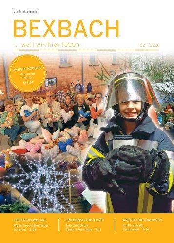 Stadtmagazin Bexbach 02|2016