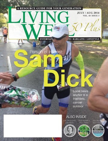 Living Well 60+ July-August 2014