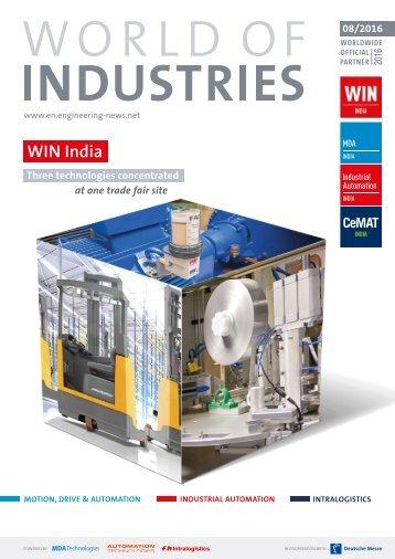 world of industries 8/2016 (EN)