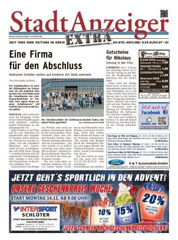 StadtAnzeiger Extra KW 45