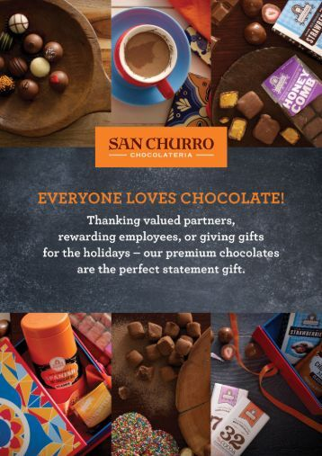 San Churro Corporate Gift Guide 2016