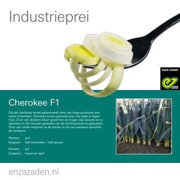 Leaflet industrieprei Belgie 2016