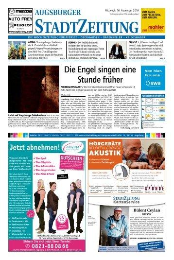 102 Augsburg - West 16.11.2016