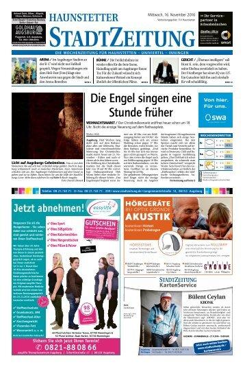 114 Augsburg - Haunstetten 16.11.2016