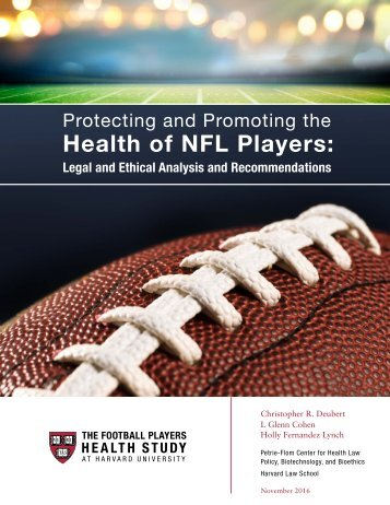 Health of NFL Players