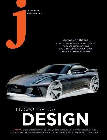 Jaguar Magazine DESIGN – Brazilian Portuguese