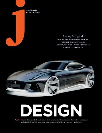 Jaguar Magazine DESIGN – German