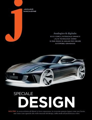 Jaguar Magazine DESIGN – Italian