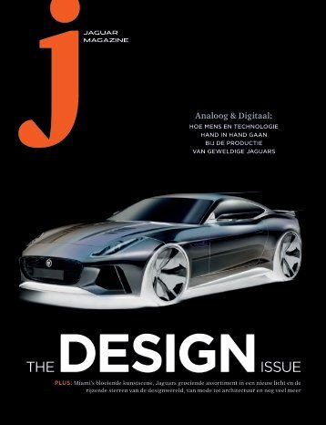 Jaguar Magazine DESIGN – Dutch