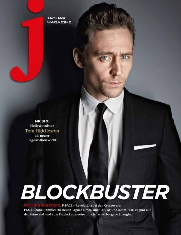 Jaguar Magazine BLOCKBUSTER – German