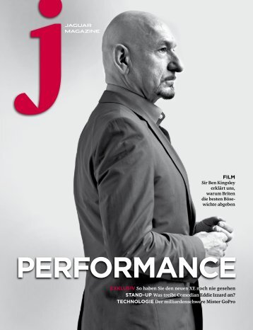 Jaguar Magazine PERFORMANCE – German