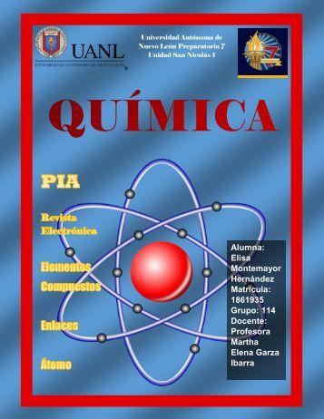 Revista Electronica QUIMICA by Elisa Montemayor