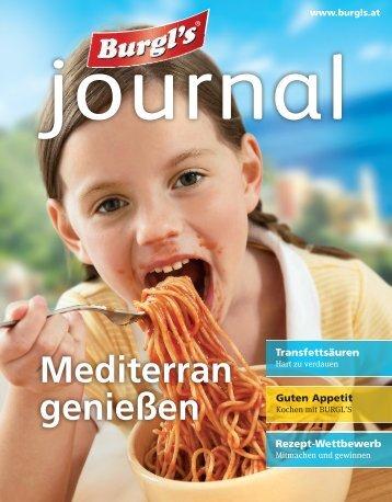 Burgl's Journal 1/2014