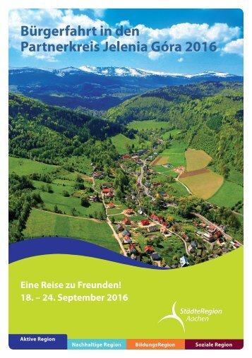 Bürgerfahrt in den Partnerkreis Jelenia Góra 2016