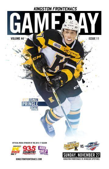 Kingston Frontenacs GameDay November 27, 2016