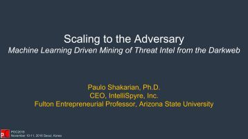 Scaling to the Adversary