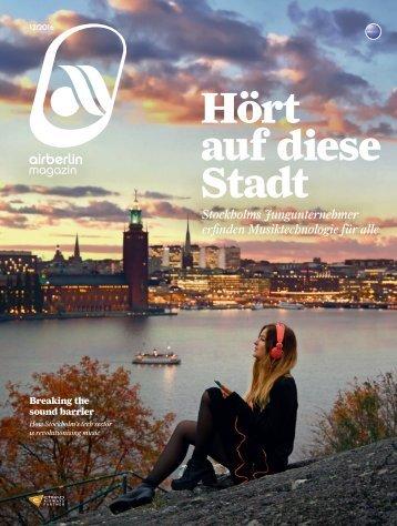 Dezember 2016 airberlin magazin - Hört auf diese Stadt