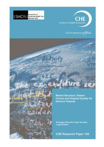 CHE Research Paper 139