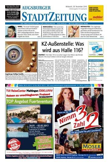 101 Augsburg - Süd 30.11.2016