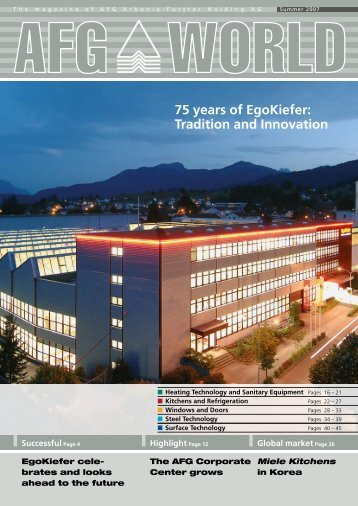 75 years of Egokiefer: Tradition and Innovation