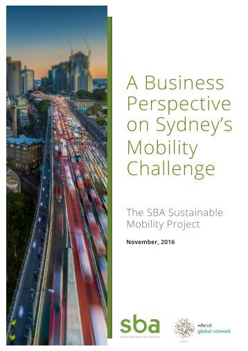 A Business Perspective on Sydney's Mobility Challenge