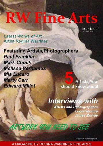 RW Fine Arts Magazine Issue 1