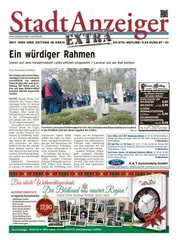 StadtAnzeiger Extra KW 47