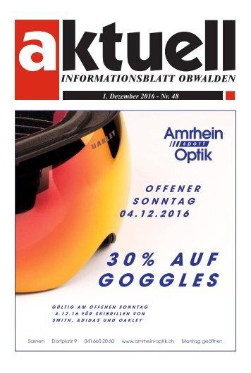 Aktuell Obwalden 48-2016