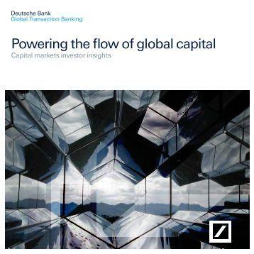 Powering the flow of global capital