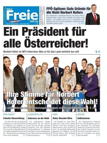 Ein Präsident für alle Österreicher!