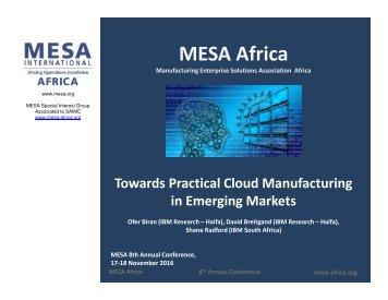 MESA Africa Conference- 2016 V4 BiranBreitgandRadford