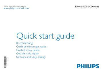 Philips 4000 series TV LCD - Guide de mise en route - NLD