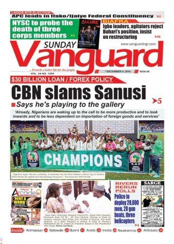 CBN slams Sanusi