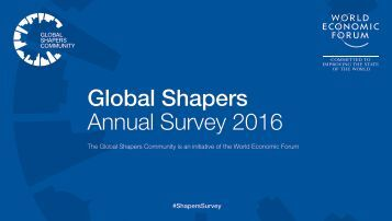 Global Shapers Annual Survey 2016
