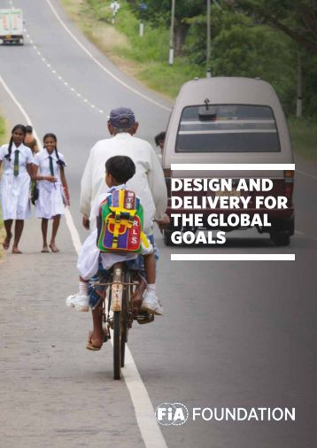 DESIGN AND DELIVERY FOR THE GLOBAL GOALS